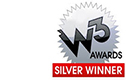 W3 Awards Silver Winner for energy website and visual appeal